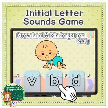 Beginning Letter Sounds Interactive Game | Preschool & Kindergarten Phonics