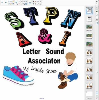 Initial Letter Sounds- S, T, P, N, I, A
