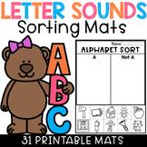 Initial Letter Sounds Sorting Mats Beginning Sounds Worksheets
