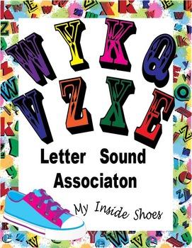 Initial Letter Sounds- W,Y, K, Q, V, Z, X, E