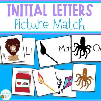 Initial Letters - Sound Match