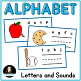 Alphabet Cards for Letter Names and Beginning Sounds