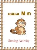Initial M - Sorting Activity - File Folder Game