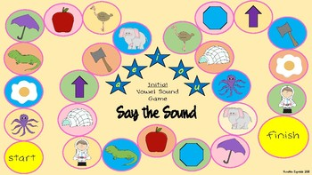 Initial Medial and Final Sounds Board Games