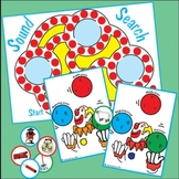 Initial, Middle and End Sounds Game