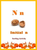 Initial N - Sorting Activity - File Folder Game