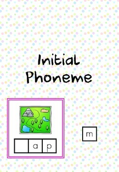 CVC Words - Initial Phoneme Cards