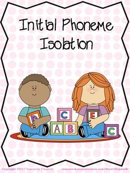 Initial Phoneme Identification