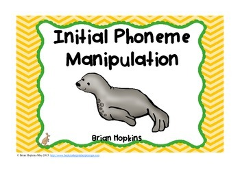 Initial Phoneme Manipulation Task Cards - Phonemic Awareness