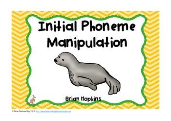 Initial Phoneme Manipulation Task Cards - Phonemic Awareness