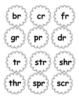 Initial R Blends Activity