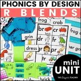 Initial R Blends Phonics By Design Mini-Unit | R Blends Activities