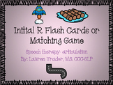Initial R Flashcards or Memory Game