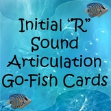 "Initial ""R"" Sound Articulation Go-Fish Cards"