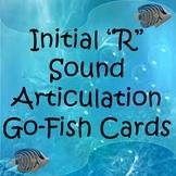 "Initial ""R"" Sound Articulation Go-Fish Cards"