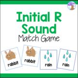 Initial R Sound Articulation Match Game