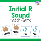 Initial R Sound Articulation Match Game