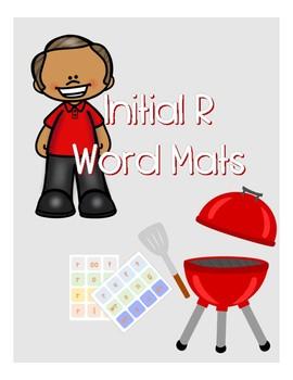 Initial R Word Mat [NO PREP!!]