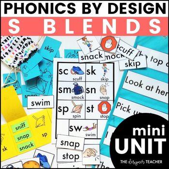 Initial S Blends Phonics By Design Mini-Unit
