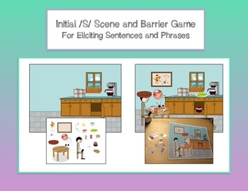 Initial /S/ Scene and Barrier Game for Sentences and Phras