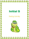 Initial S - Sorting Activity- File Folder Game