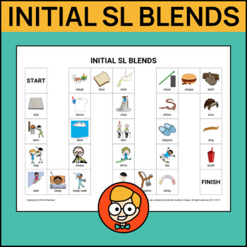 Initial SL Blends Articulation Game