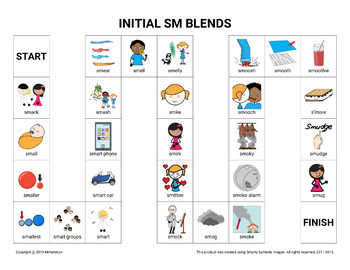 Initial SM Blends Board Game