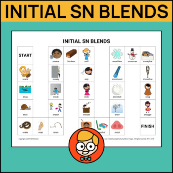 Initial SN Blends Articulation Game