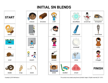 Initial SN Blends Board Game