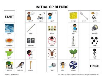 Initial SP Blends Board Game