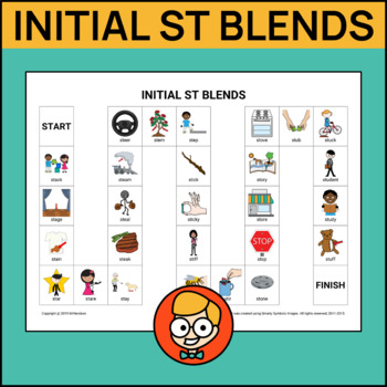 Initial ST Blends Articulation Game