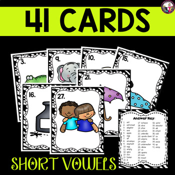 Initial Short Vowel Game!