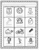 Initial Sound A-Z-Spanish Worksheet #2