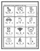 Initial Sound A-Z-Spanish Worksheet #9