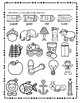 Initial Sound A-Z Worksheet #5