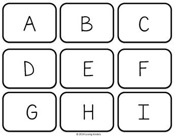 Alphabet Cards, FREEBIE!!