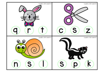 Initial Sound Alphabet Cards