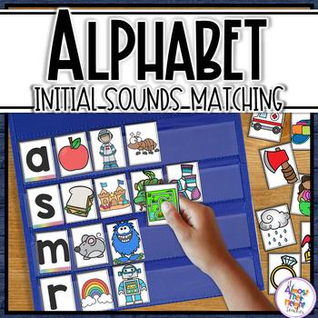 Alphabet Initial Sounds - A Pocket Chart Activity