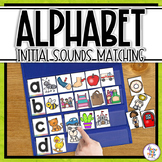 Alphabet Initial Sounds Sorting Activity for Pocket Charts