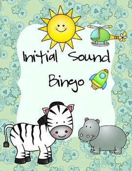 An Initial Sound Bingo Game