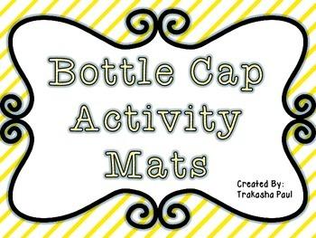 Initial Sound Bottle Cap Match Freebie