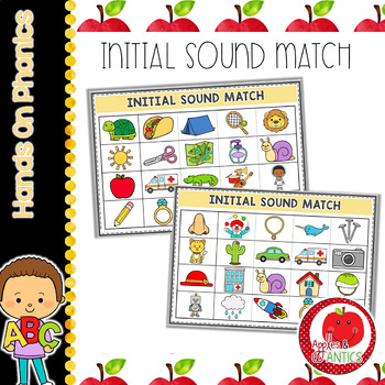 Initial Sound Cards - Sound Identification Activity