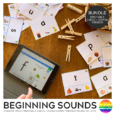 Initial Sound Clip Cards