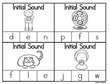 Initial Sound Clip Cards- Short A