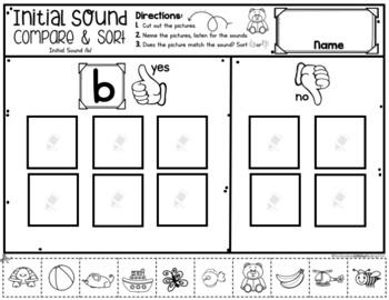 Initial Sound Compare Sorts