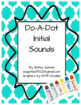 Initial Sound Do-A-Dot