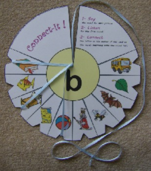 Initial Sound Identification & Letter-Sound Correspondence Activity– Connect-It!