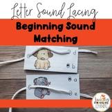 Multi-Sensory, Low-Prep Initial Sound Lacing
