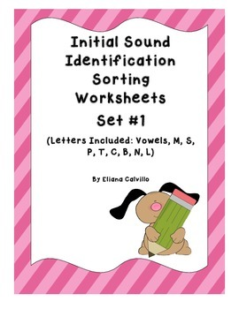 Initial Sound Letter Identification Set 1