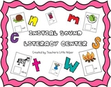 Initial Sound Literacy Center